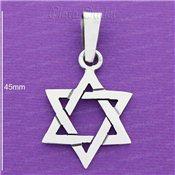 Estrella de David plata